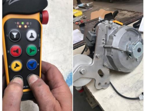 Remote Control Material hoist